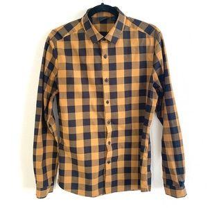 ASOS Super Skinny stretch fit long sleeve shirt